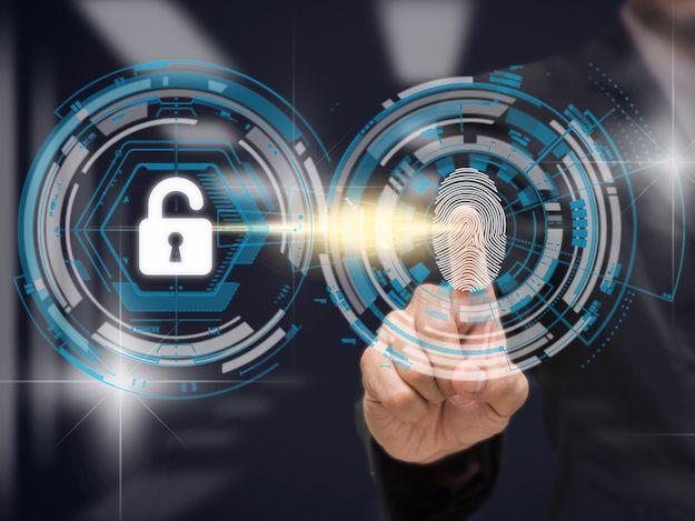 Imagem cadeado de segurança digital com identidade digital